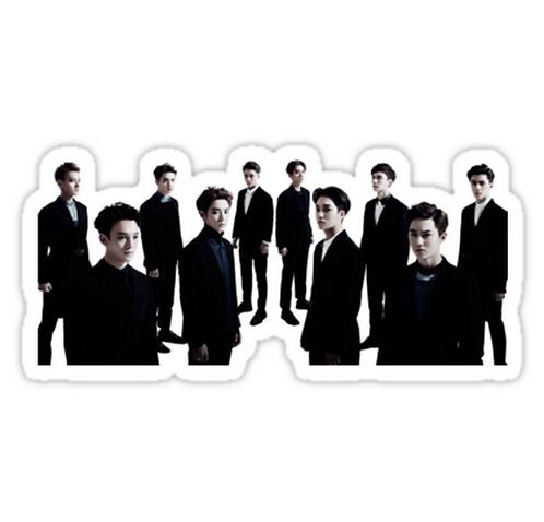 exo luxion SSTK065 K-Pop Music Brand Car Window Decal Sticker