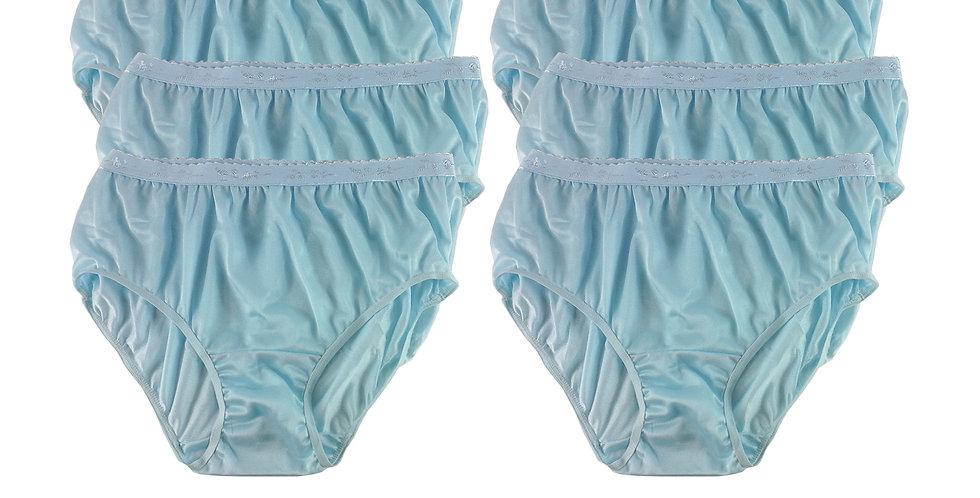 CKS BLUE Lots 6 pcs Wholesale New Nylon Panties Women