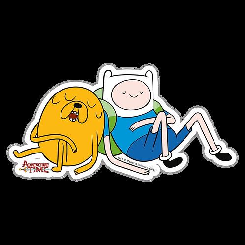 SRAA066 Adventure Time Anime Sticker Bumper Car Window Decal For Helmet