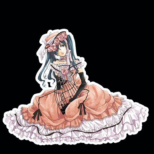 Anime Stickers Die-cut Car motorcycle laptops phone Truck wall BB36 Black Butler