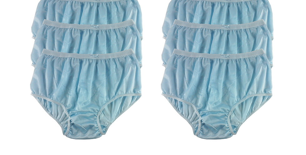 NYS blue Lots 6 pcs New Panties Wholesale Briefs Silky Nylon Men Women