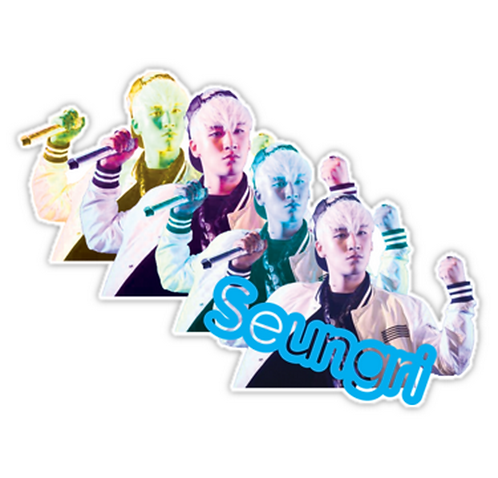 Seungri ~ Big Bang SSTK044 K-Pop Music Brand Car Window Decal Sticker