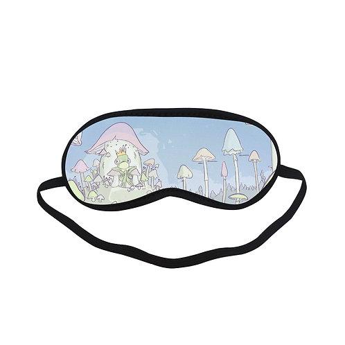 PTEM341 Frog Cartoon Design Eye Printed Sleeping Mask