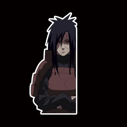 NOR360 Madara uchiha Naruto Peeking anime sticker Car Decal Vinyl Window