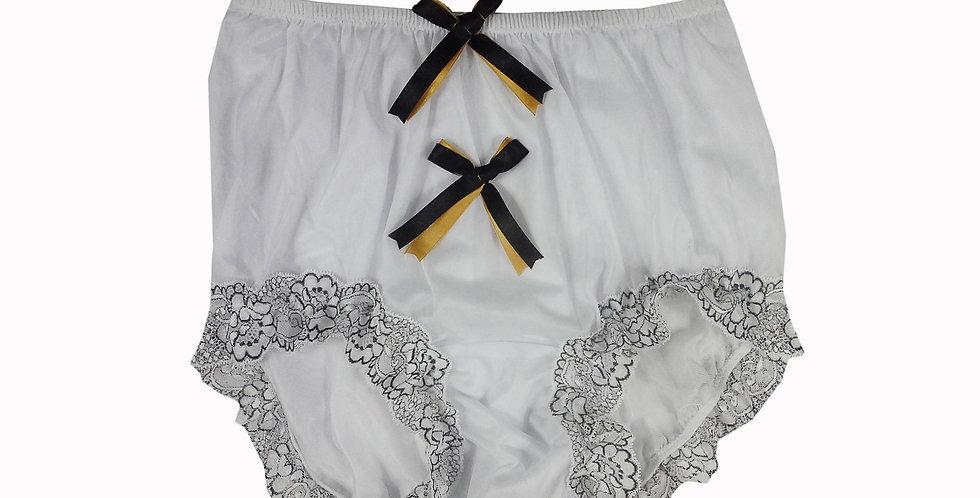 NNH10D117 Handmade Panties Lace Women Men Briefs Nylon Knickers