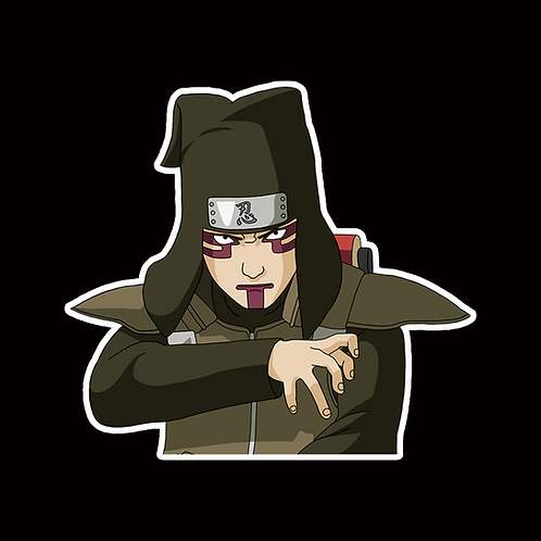 NOR392 Kankuro Naruto Peeking anime sticker Car Decal Vinyl Window