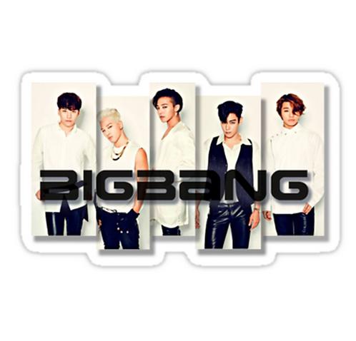 BigBang - 2 SSTK057 K-Pop Music Brand Car Window Decal Sticker