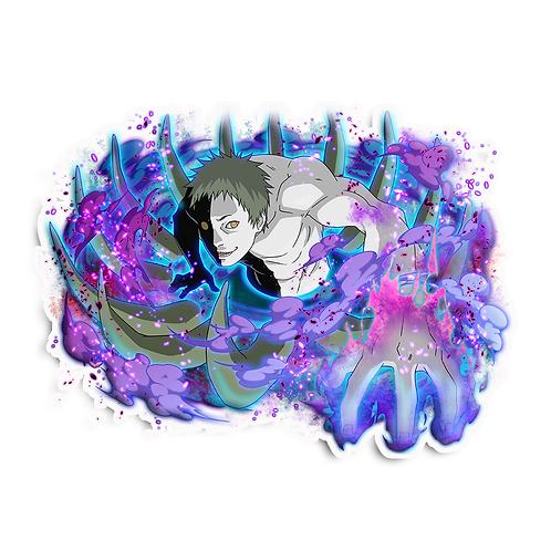 NRT572 Zetsu Akatsuki Naruto anime sticker Ca