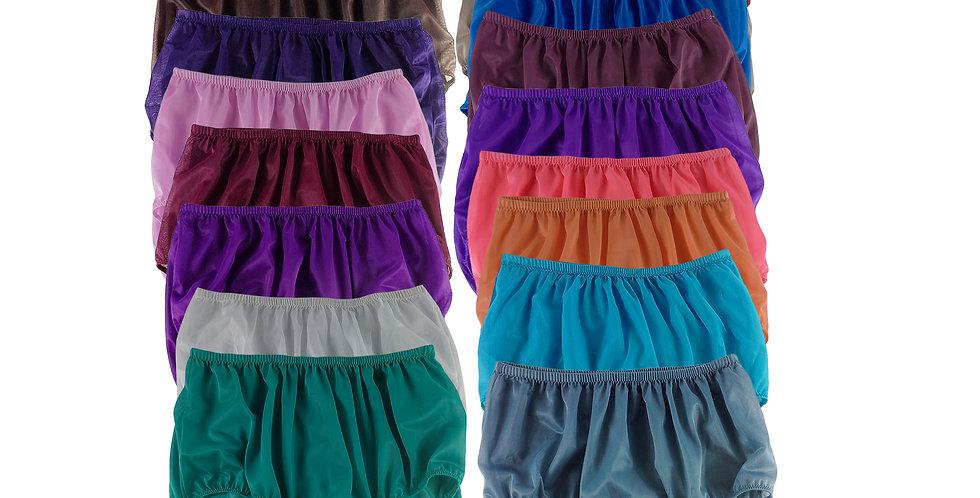 Lots 17 pcs Mix Wholesale Women New Panties Granny Briefs Nylon Knickers Undies