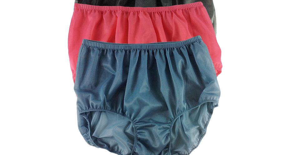 A54 Lots 3 pcs Wholesale Women New Panties Granny Briefs Nylon Knickers