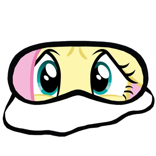 EYM076 My Little Pony Fluttershy Eye Printed Sleeping Mask
