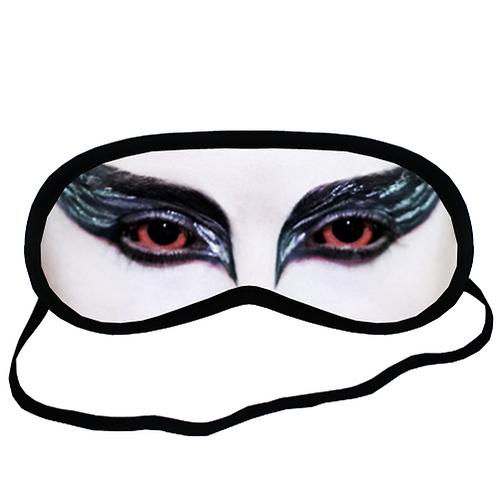 EYM550 Black Swan Eye Printed Sleeping Mask