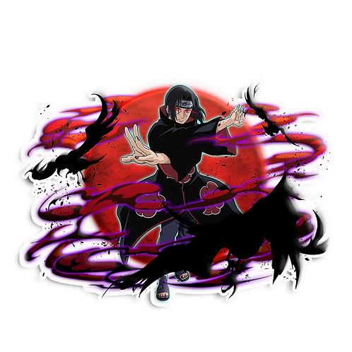 NRT433 Uchiha Itachi Akatsuki Sharingan Naruto anime s