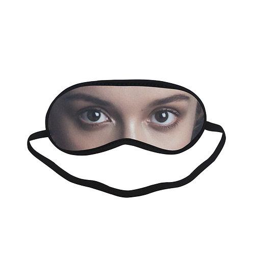 JTEM384 Olivia Cooke Eye Printed Sleeping Mask