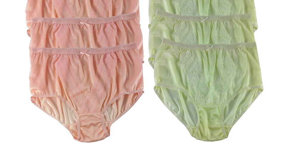 NLSG15 Lots 6 pcs Wholesale New Panties Granny Briefs Nylon Men Women