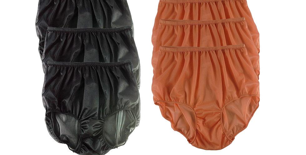 NSD12Lots 6 pcs Wholesale Women New Panties Granny Briefs Nylon Lingerie