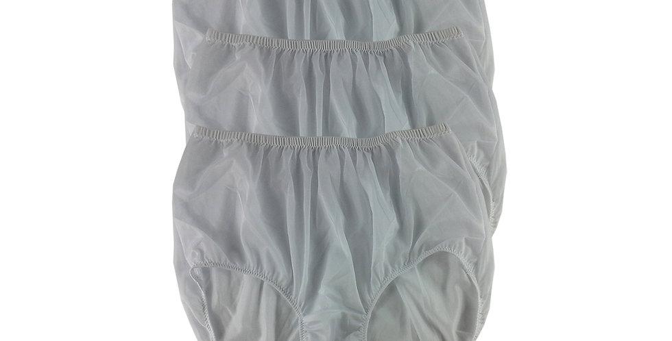 B15 White Lots 3 pcs Wholesale Women New Panties Granny Briefs Nylon
