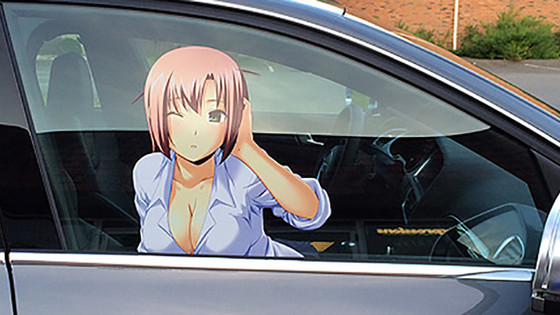 Anime Car Sticker