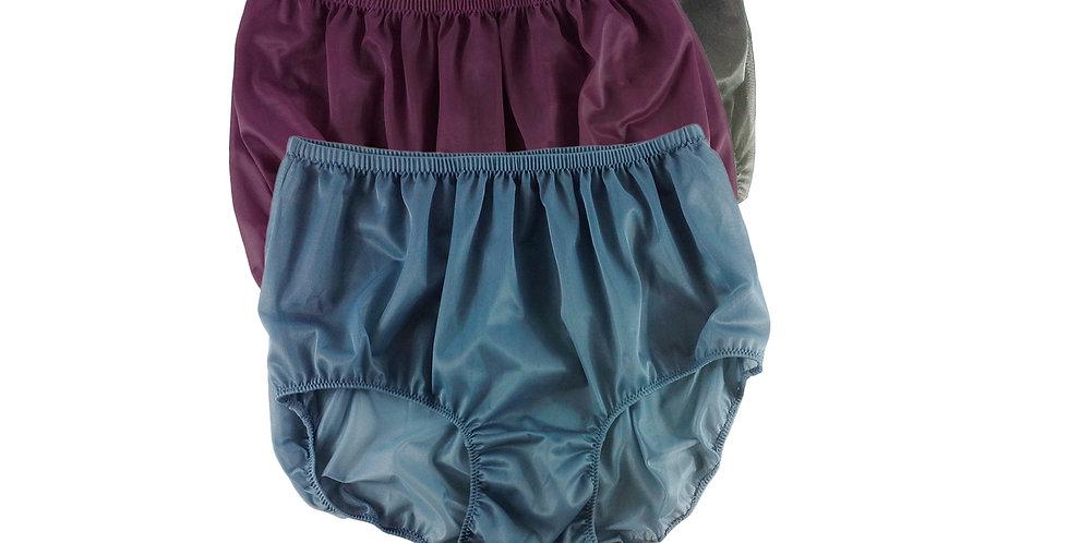 A51 Lots 3 pcs Wholesale Women New Panties Granny Briefs Nylon Knickers