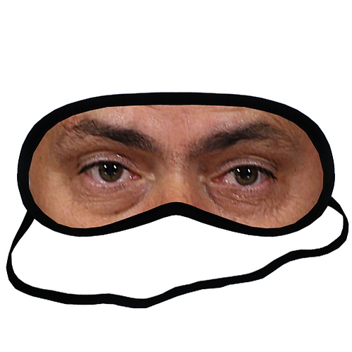 EYM1454 Jose Mourinho Eye Printed Sleeping Mask