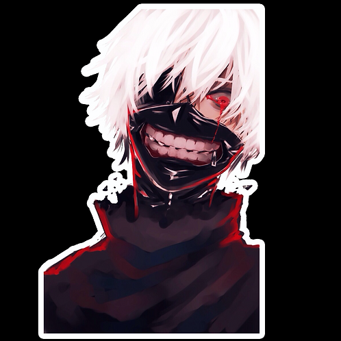 Anime Sticker Car Bumper Truck Window Helmet Laptop Phone Decal TG32 Tokyo Ghoul