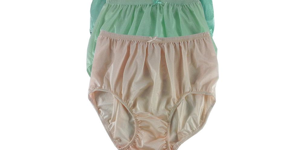 NQTD09 Lot 3 pcs Wholesale New Panties Granny Briefs Nylon Men Women