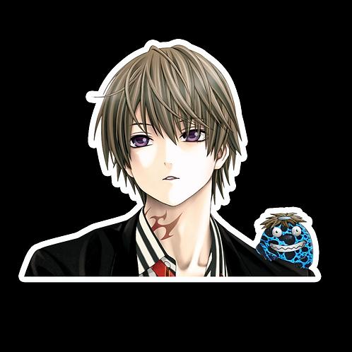 Peeker Anime Peeking Sticker Car Decal AB52  rosario vampire aono tsukune