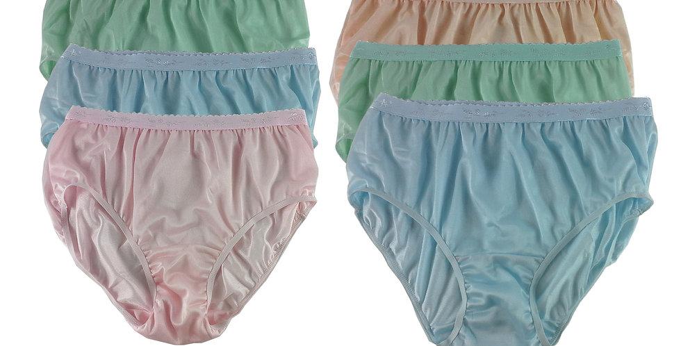 CKSL24 Lots 6 pcs Wholesale New Nylon Panties Women Undies Briefs