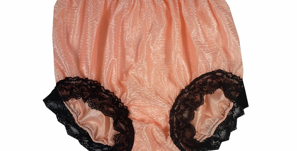 SFH07D02 Orange Shiny Nylon New Panties Women Men Handade Briefs