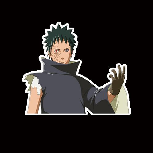 NOR303 Obito Uchiha Naruto Peeking anime sticker Car Decal Vinyl Window