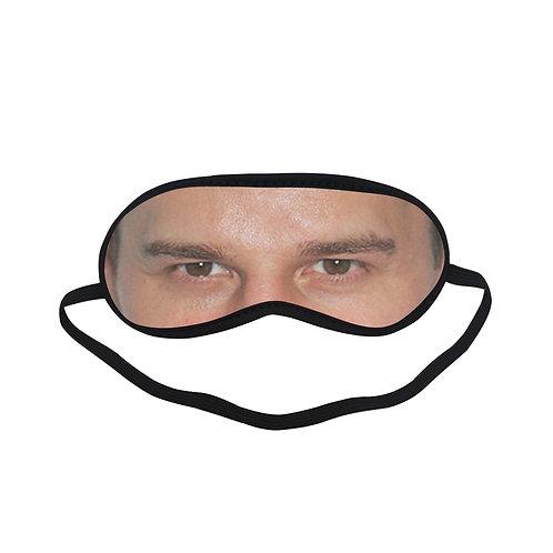 EOL086 David Boreanaz Eye Printed Sleeping Mask
