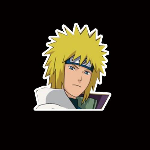 NOR307 Minato Namikaze Naruto Peeking anime sticker Car Decal Vinyl Window