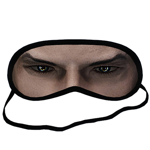 EYM1175 Animae Cosplay Eye Printed Sleeping Mask