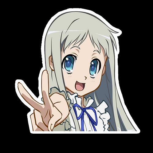 Peeker Anime Peeking Sticker Car Decal PMK1 Meiko Honma Anohana
