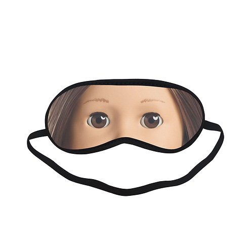 FTEM002 American Doll Eye Printed Sleeping Mask