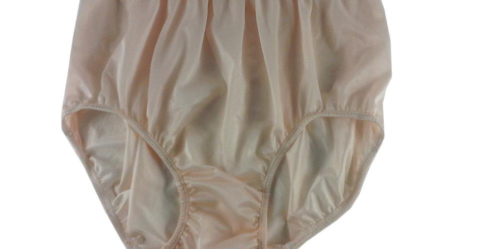 NQ05 Orange New Panties Granny Briefs Nylon Underwear Men Women