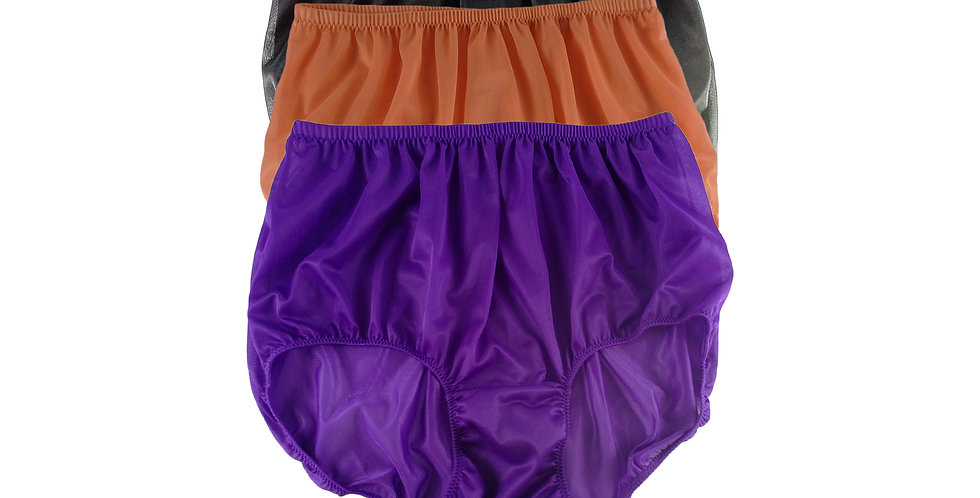 A98 Lots 3 pcs Wholesale Women New Panties Granny Briefs Nylon Knickers