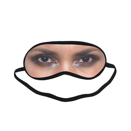 SPM255 Halle Berry Eye Printed Sleeping Mask
