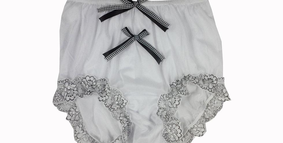 NNH10D120 Handmade Panties Lace Women Men Briefs Nylon Knickers