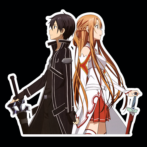 Anime Sticker Car Bumper Truck Window Helmet Decal SSAO76 Sword Art Online