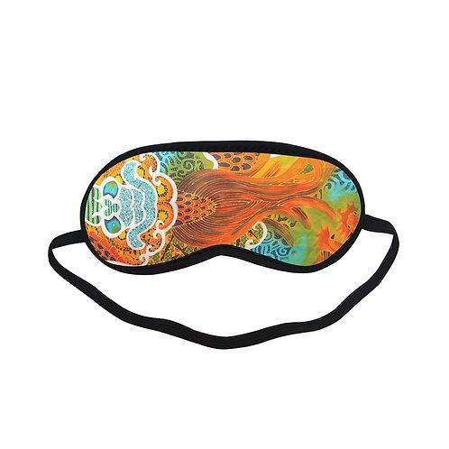 PTEM485 Paisley Design Eye Printed Sleeping Mas