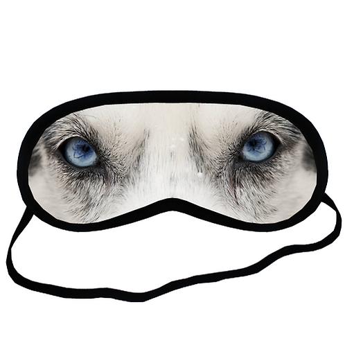 EYM659 siberian husky Dog Eye Printed Sleeping Mask