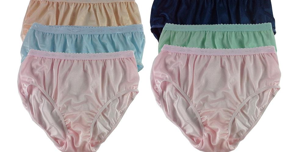 CKSL48 Lots 6 pcs Wholesale New Nylon Panties Women Undies Briefs