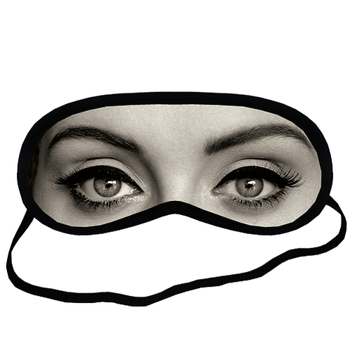 EYM056 Adele Singer Celebrity Eye Printed Sleeping Mask