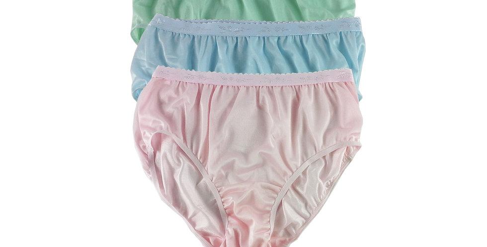 CKTK20 Lots 3 pcs Wholesale New Nylon Panties Women Undies Briefs