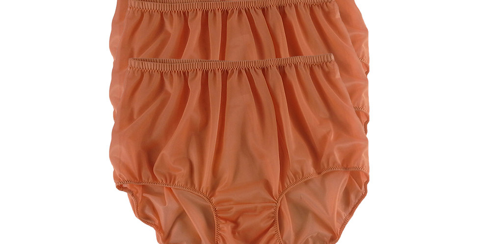 B14 orange Lots 3 pcs Wholesale Women New Panties Granny Briefs Nylon