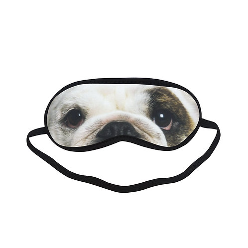 SPM047 english bulldog Dog Eye Printed Sleeping Mask