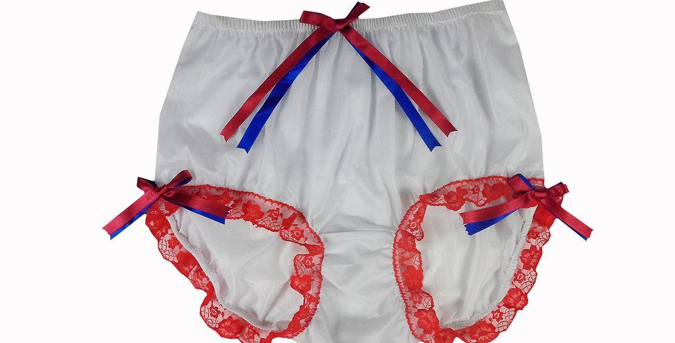 NNH11D72 Handmade Panties Lace Women Men Briefs Nylon Knickers