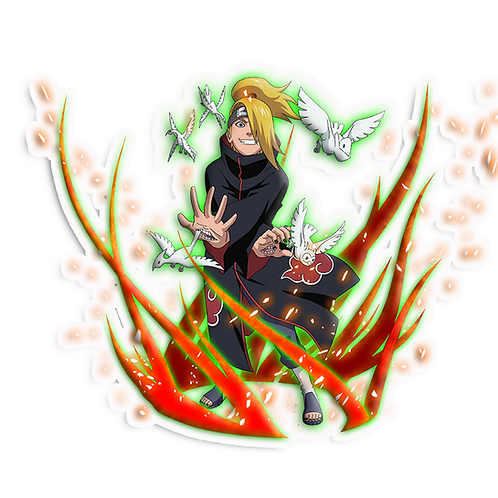 NRT46 Deidara Iwagakure Akatsuki Naruto anime stick
