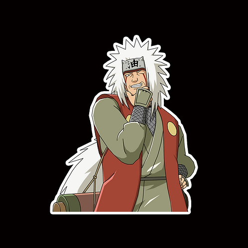 NOR287 Jiraiya Naruto Peeking anime sticker Car Decal Vinyl Window